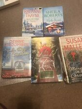 Christmas romance novels 5 total (Deb macomber, susal mallery, rae anne thayme s