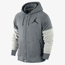 NEW Men's Jordan by Nike Varsity Hoodie Jacket Size: X-Large Color: Gray
