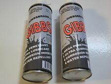 Gibbs Brand Lubricant Gun Cleaner & Lubricant, Penetrant, Degreaser  Water Repel