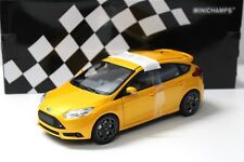 1:18 Minichamps Ford Focus ST 2011 yellow NEW bei PREMIUM-MODELCARS