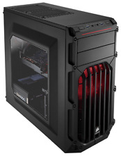 Corsair Carbide Series Spec-03 Red Led Mid Tower Window Gaming Case