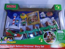 Fisher Price Little People Twas the Night Before Christmas Story Set  NEW IN BOX