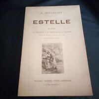 E.Houchart: Estelle, poème en français et en provençal illustré de planches