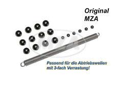 Simson SET Kugelsatz 6x Ø4 + 12x Ø7mm-Stahlkugeln + Schnurfeder z. Abtriebswelle