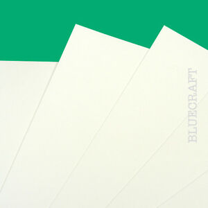10 sheets x A4 Diamond White Top Quality Crafting Card 400gsm