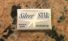 NOS Silver Star Double Edged Razor Blades 5 For $.25 New In Plastic