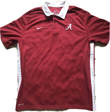 Alabama Nike Dri Fit Polo Shirt Large