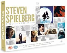 STEVEN SPIELBERG DIRECTOR'S COLLECTION 8 FILMS BLU-RAY 8 DISCS BOX SET REG B NEW