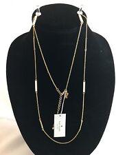 Kate Spade White Raising the Bar Necklace NWT(Retail $78.00)
