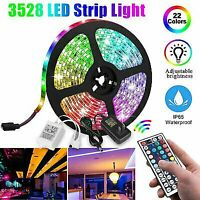 RGB LED Strip Lights 5M  5050 SMD+44 Key Remote controller+12V AU Power Full Kit