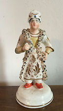 Antique 19th c. Staffordshire Pearlware Figure of a Turk