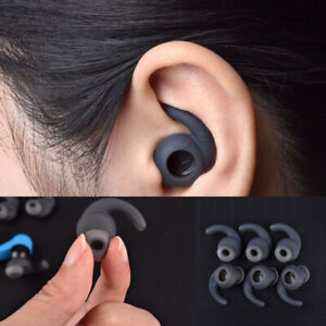 IN EAR EARBUDS TIPS HOOKS FLANGE  FOR JABRA JBL WIRELESS HEADPHONES S/M/L X 6