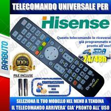TELECOMANDO UNIVERSALE HISENSE, CLICCA SUL TUO CODICE E TI ARRIVERÀ GIA PRONTO