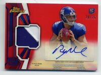 2013 Topps Finest RYAN NASSIB Rookie RC AUTO AUTOGRAPH PATCH #/75 RED REFRACTOR