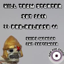 2019 Kill Team Starter Set - Tau Empire Fire Warriros x10 + Cards, Tokens, Codex