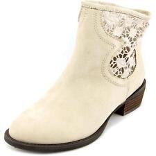 Calzado de mujer botines de piel color principal crema