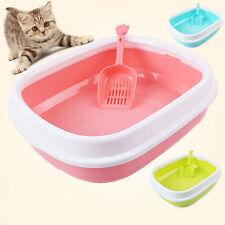 Large Cat Litter Box Big Huge Kitty Pan Pet Toilet Clean Mat House Furniture