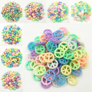 DIY Loose Beads Jelly color Acrylic Beads For DIY Necklace Bracelet Wholesale