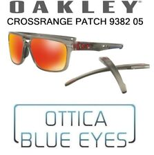 Occhiali da Sole OAKLEY CROSSRANGE PATCH OO 9382 05 Sunglasses 938205 PRIZM RUBY