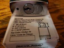 Schlage padlock with medeco x4 cylinder and keys Locksmith