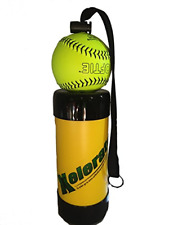 Xelerator 2nd Gen Softball Pitching Trainer w/Leather Ball Yellow, 11""