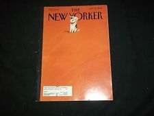 2001 JULY 30 NEW YORKER MAGAZINE - BEAUTIFUL FRONT COVER - C 3365