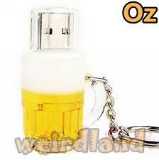 Beer Mug USB Stick, 32GB Quality 3D Beer Cup USB Flash Drives weirdland