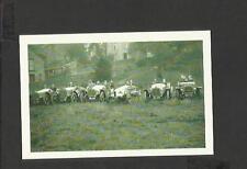 Nostalgia Postcard Talbot motor racing team lined up Pateley Bridge 1913