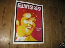 Elvis Presley on Tour 1969 Repro POSTER