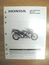 93 Honda CBR1000 Set Up Instructions Wiring Diagram