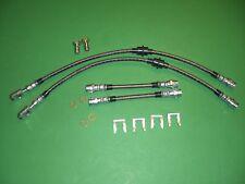 Vw Mk4 Golf Jetta 99-05 Stainless Brake Line Hose Kit