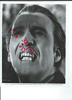 TASTE THE BLOOD OF DRACULA 1970 ORIG BW VINTAGE STILL PHOTO HORROR HAMMER FANGS