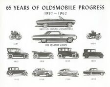 1962 Oldsmobile Cutlass Convertible Factory Photo ua8025-KTS1MA