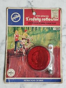 Vintage 1971 Cat Eye Cycle Product Bicycle Reflector Schwinn Stingray Sealed New