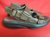 MBT Kisumu Women 9.5 Brown Sueded Leather Sport Walking Rocker Sandals