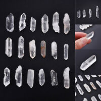 50g Natural Clear Rock Crystal Quartz Small Point Mineral Specimen Healing Stone