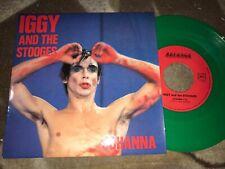 Hard Rock 45 IGGY & THE STOOGES Johanna on Rev-Enge EX france green vinyl