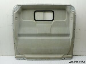 Trennwand Heckwand Laderaum mit Fenster Fiat Ducato 250 L (483-239 7-2-0)