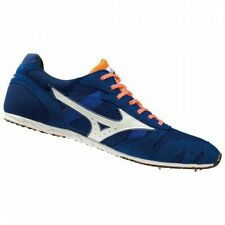 Mizuno Track and Field Spike shoes CHRONO DIST 7 U1GA1903 Blue × White × Orange