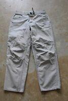 The North Face Men's Gray Cotton Work Casual Outdoor Climbing Pants Sz. 34 x 31