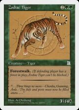 Zodiac Tiger Portal Three Kingdoms NM Green Uncommon MAGIC MTG CARD ABUGames