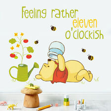 Winnie the Pooh Pot Nursery Room Wall Decal Decor Stickers For Kids Baby Decor