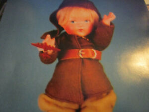 4pg Vogue Composition Doll History Article / HARD TO FIND / Stover