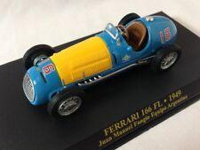 FERRARI 166 FL - Juan Manuel Fangio (1949) 1:43 Die-cast Scale Model Car IXO
