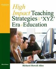 High-Impact Teaching Strategies for the 'XYZ' Era of Education-ExLibrary