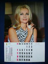 1967 Virna Lisi Japan VINTAGE Poster Calendar 12x18 VERY RARE