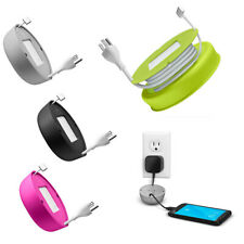 Quirky Powercurl Mini Unversal Organizer POP Cord Wrap Charging Cable Management