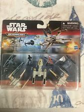 Star Wars The Force Awakens Micro Machines Deluxe Vehicle Pack Trench Run NEW