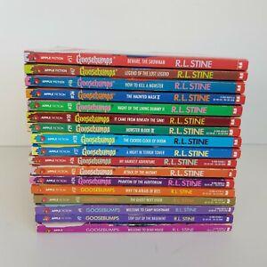 Goosebumps Bulk Lot of 17 Books R.L. Stine Vintage 90s
