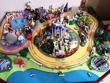 USA Walt Disneyland Disney Parade Diorama Model Resin Miniature Ornament kit SET